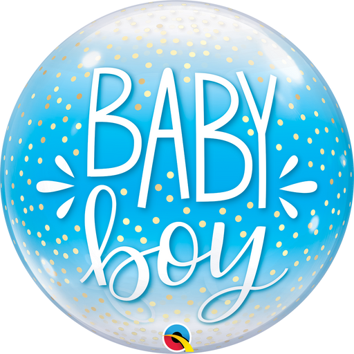 Baby Bubble Balloon (Blue)