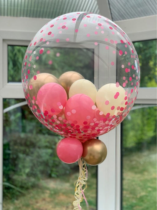 Confetti Dot Bubble Balloon