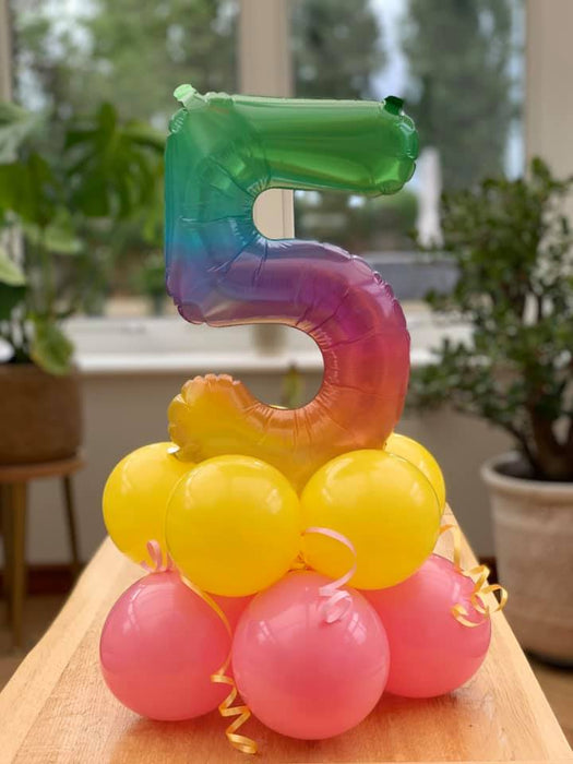 Age Table Balloon Decoration
