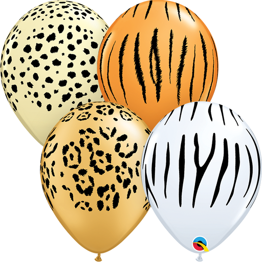 Safari Latex Balloon (Assorted)