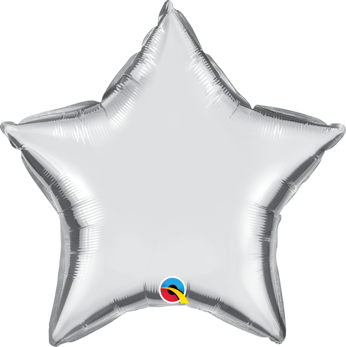 Star Foil Balloon (Silver)