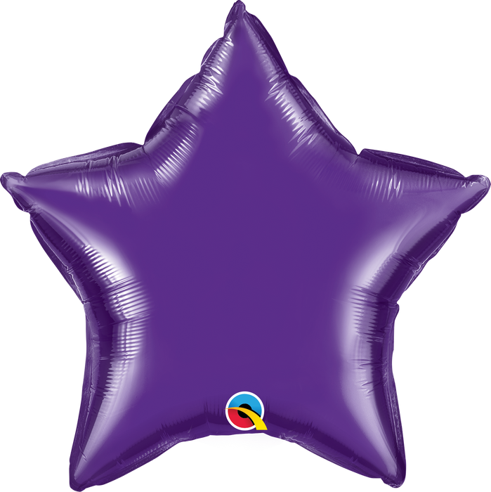 Star Foil Balloon (Purple)