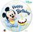1st Birthday Minnie/Mickey Mouse Bubble Balloon