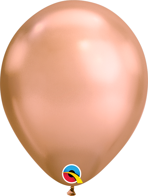 Chrome Latex Balloon (Rose Gold)