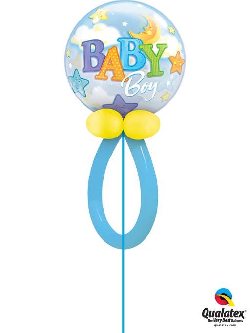 Dummy Baby Bubble Balloon