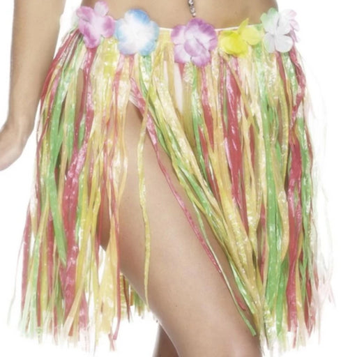 Mini Hawaiian Hula Skirt (Multi)
