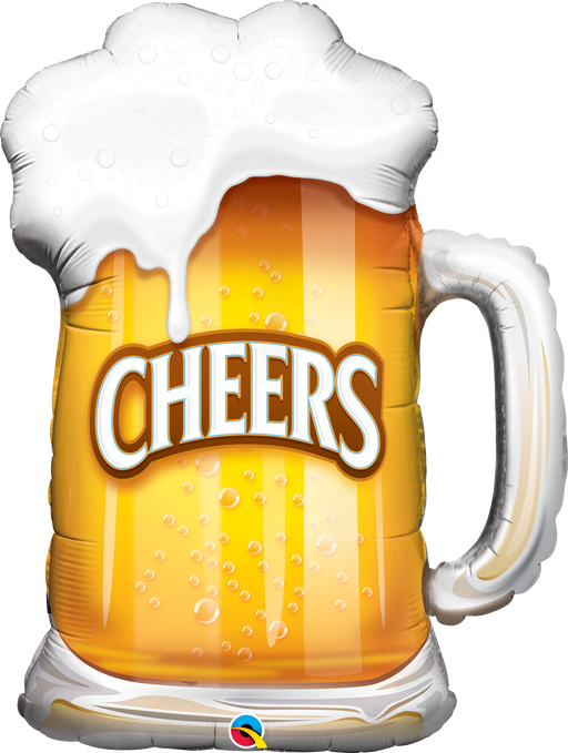 Cheers Beer Mug Foil Balloon