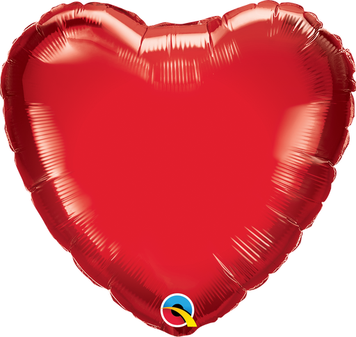 Heart Foil Balloon (Red)