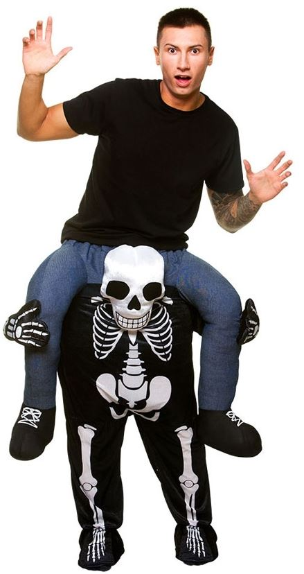 Carry Me Skeleton Costume