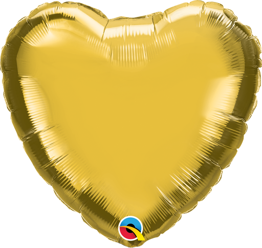 Heart Foil Balloon (Gold)