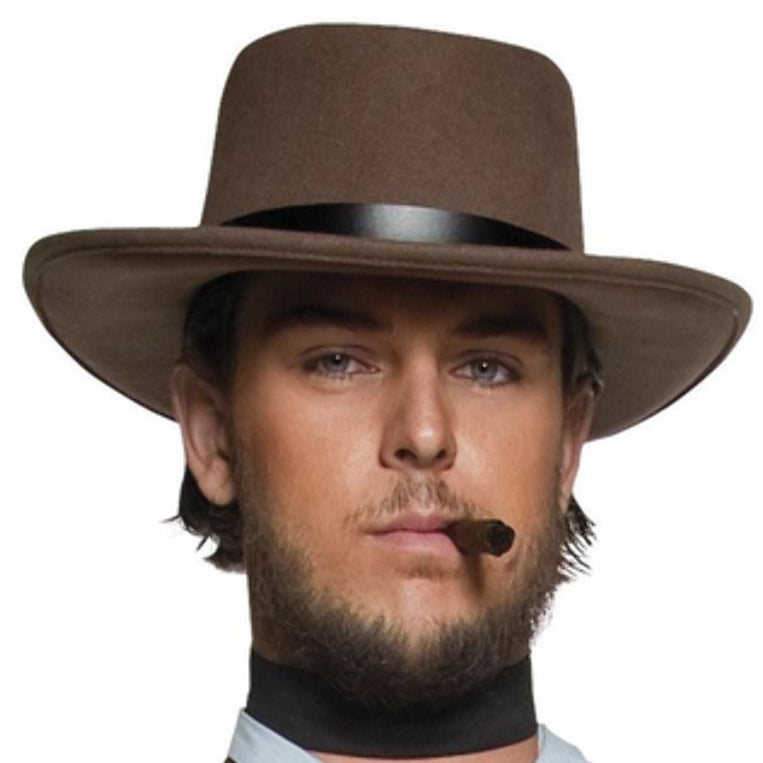 Authentic Western Wandering Gunman Hat