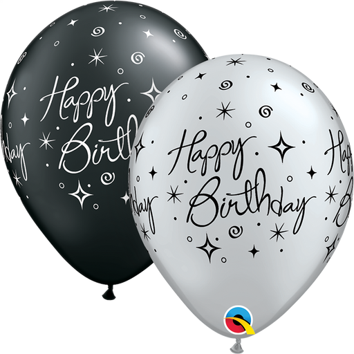 Happy Birthday Latex Balloon (Assorted)