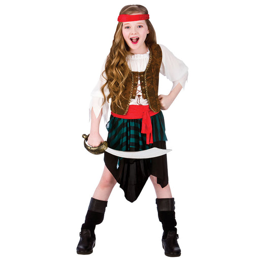 Caribbean Pirate Girl Costume