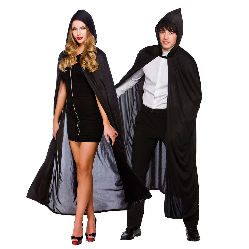 Hooded Cape (Black)