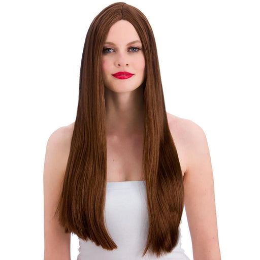 Classic Long Wig (Brown)