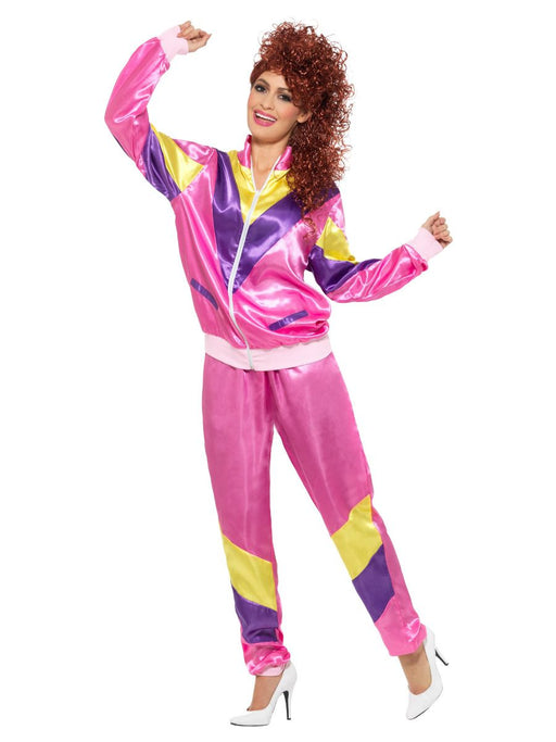 80s Height of Fashion Shell Suit Costume