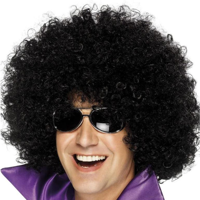 Mega Huge Afro Wig (Black)