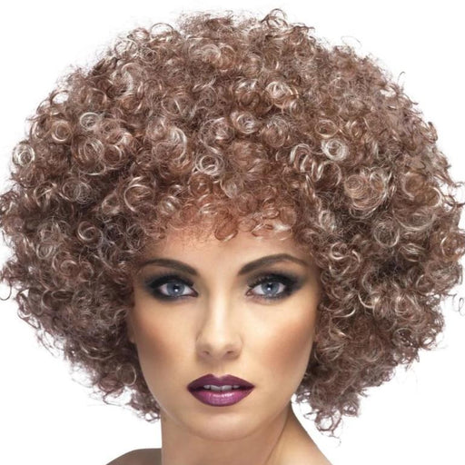 Afro Wig (Blonde & Brown)