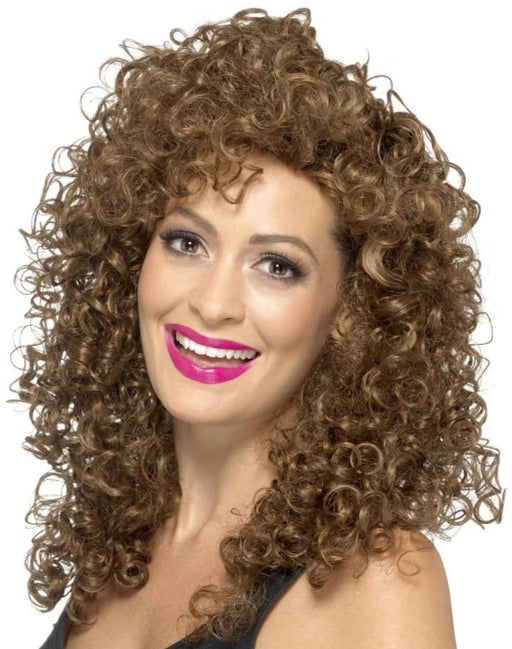 Boogie Babe Wig (Brown)