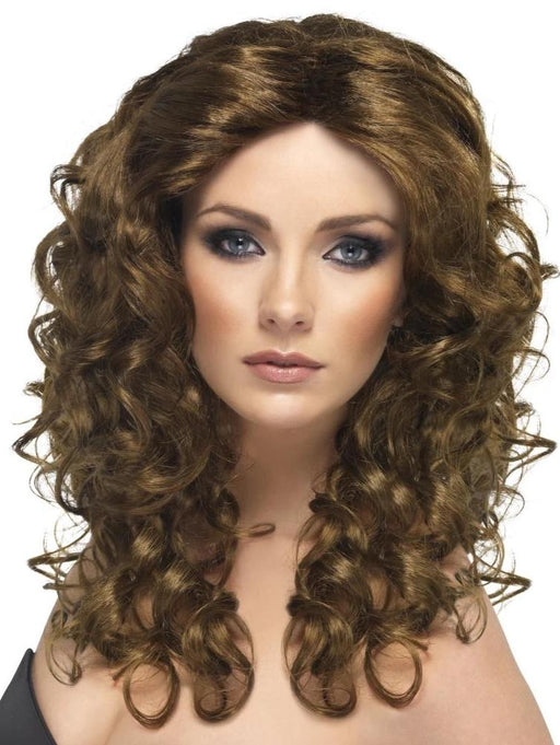 Glamour Wig (Brown)