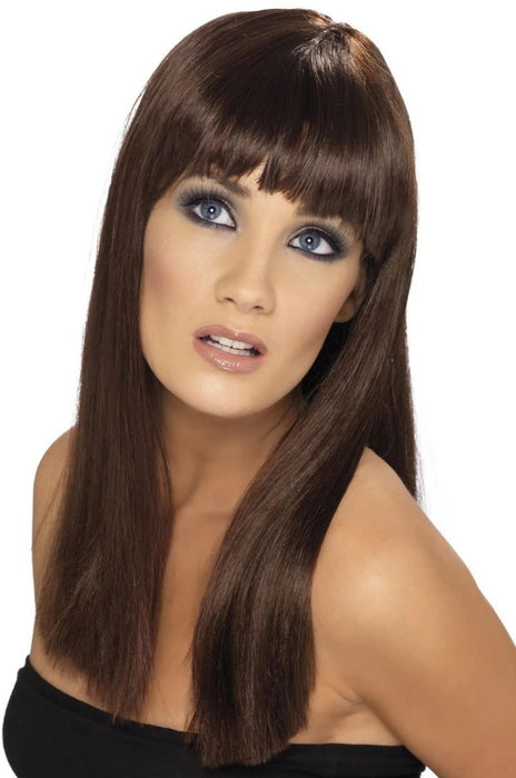 Glamourama Wig (Brown)
