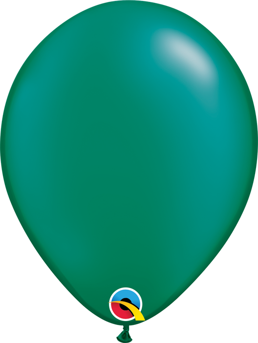 Plain Pearl Latex Balloon (Emerald Green)
