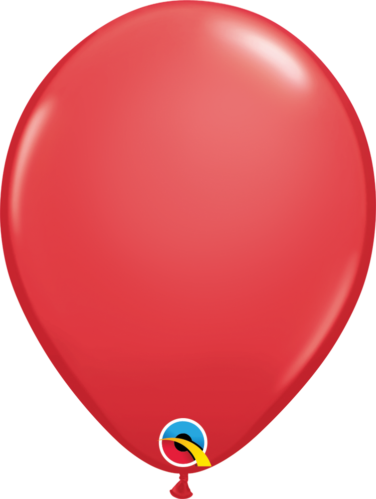 Plain Latex Balloon (Red)