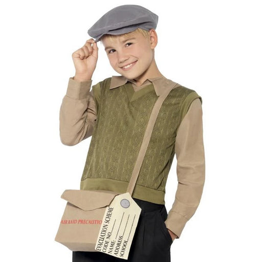 Evacuee Boy Costume Kit
