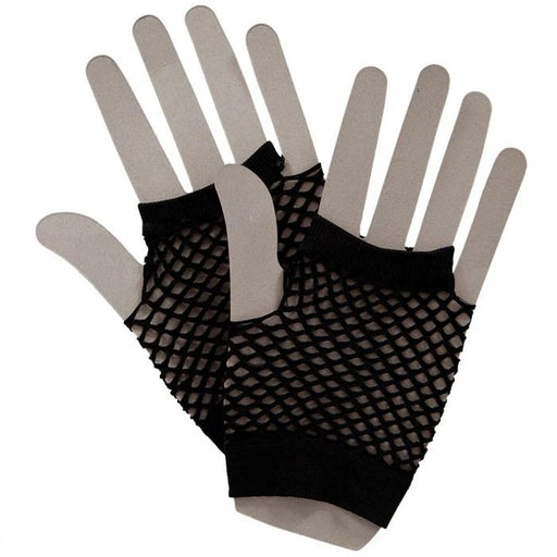 80s Net Gloves (Black)