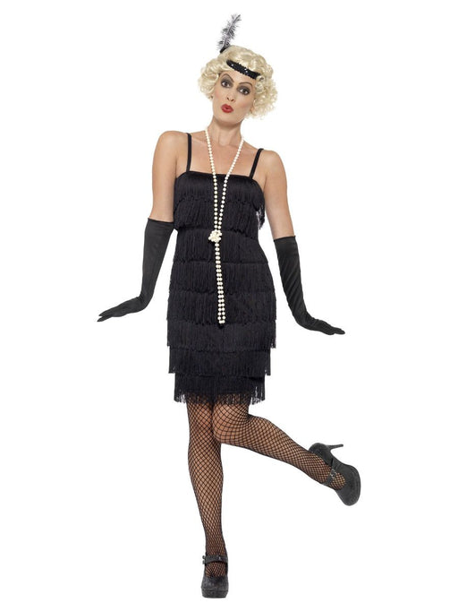 Short Flapper Costume (Black)