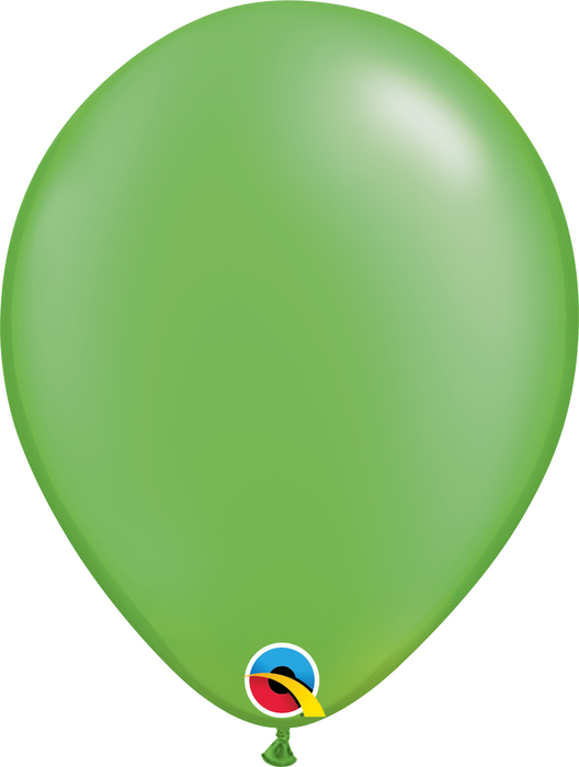 Plain Pearl Latex Balloon (Lime Green)