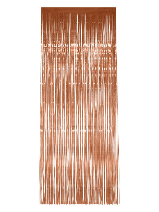 Rose Gold Shimmer Curtain