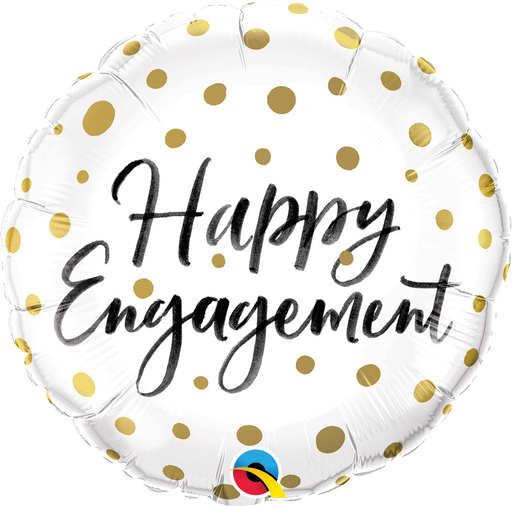 Happy Engagement Foil Balloon