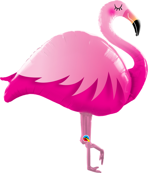 Pink Flamingo Foil Balloon