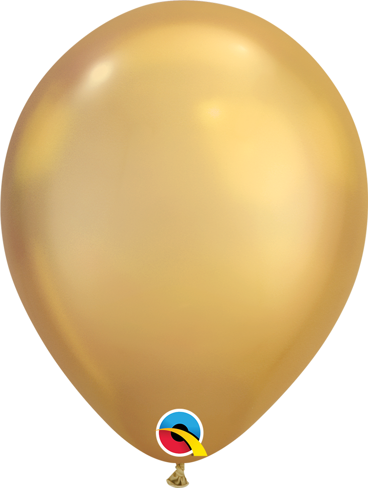 Chrome Latex Balloon (Gold)