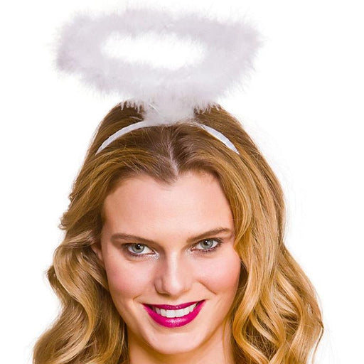 Feather Angel Halo (White)