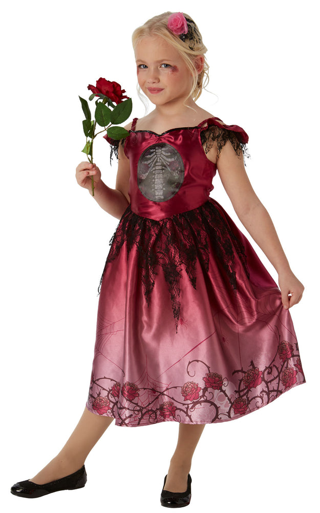 Girls Rags and Roses costume