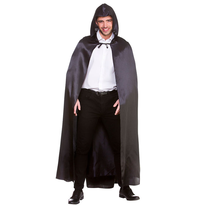 Deluxe Satin Hooded Cape