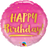 Happy Birthday Foil Balloon (Pink)
