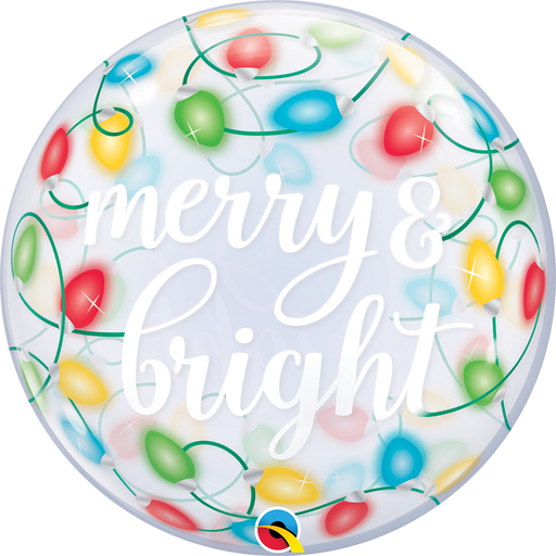 Merry & Bright Bubble Balloon