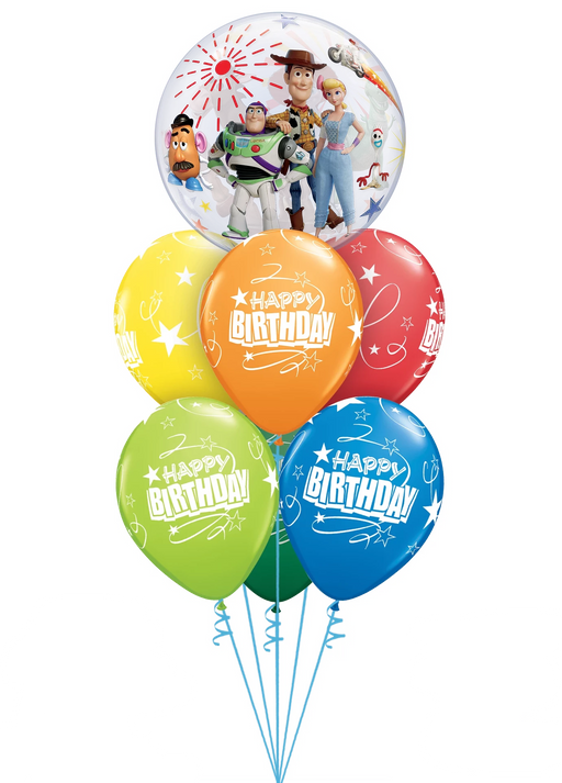 Luxury Toy Story Happy Birthday Bubble Bouquet
