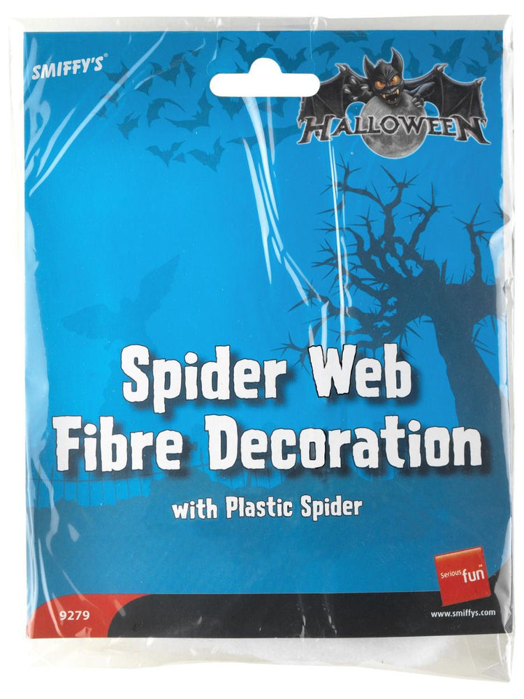 Spider Web Fibre Decoration