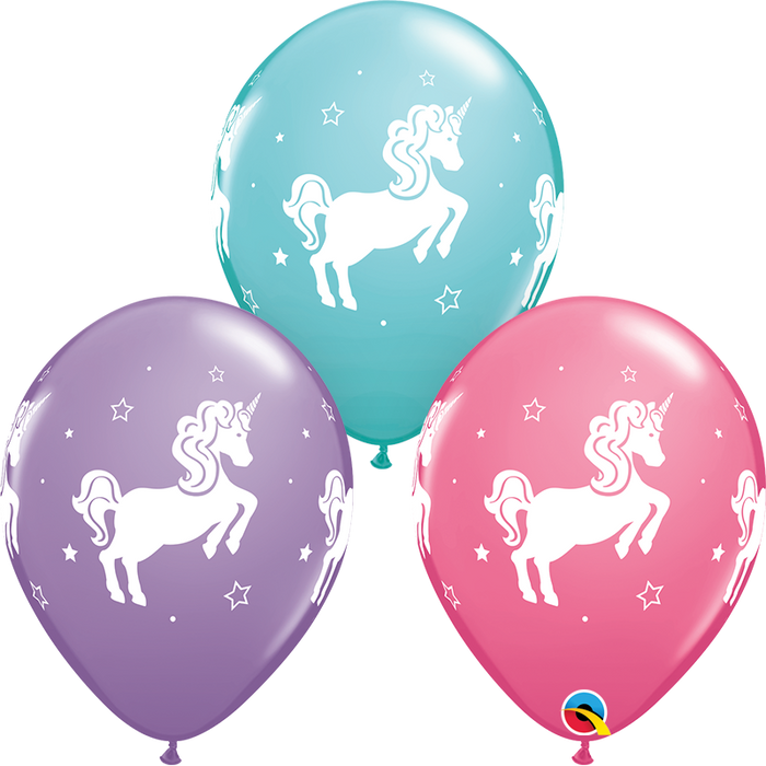 Unicorn Latex Balloon (Assorted)