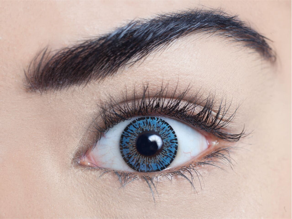 Intense Contact Lenses (Azure Blue)