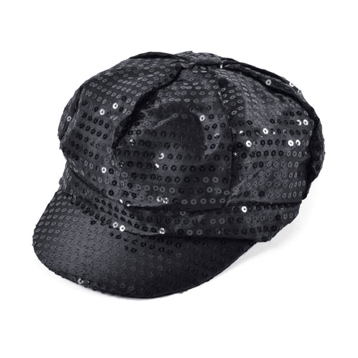 70s Sequin Cap (Black)