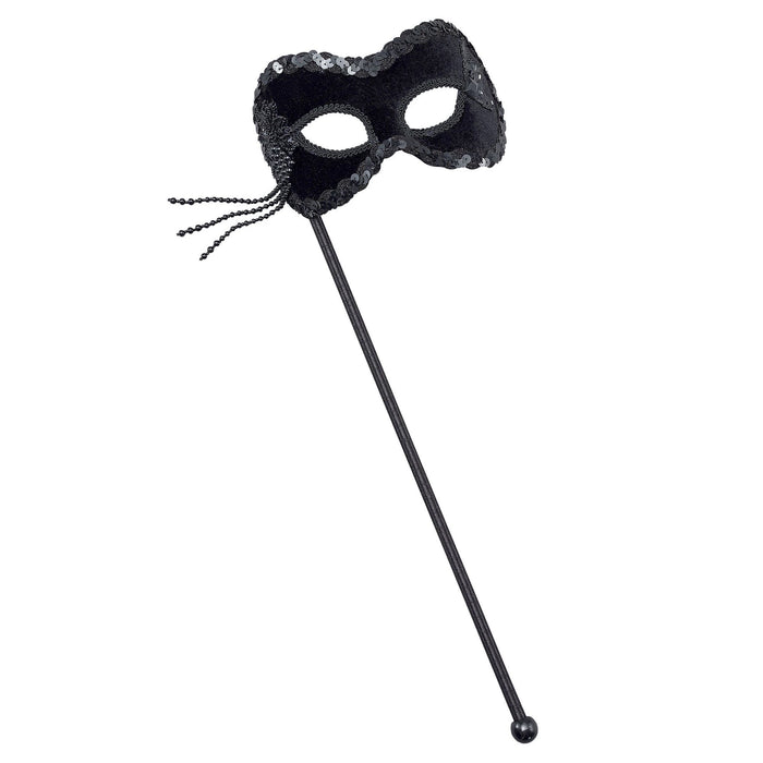 Velvet Eye Mask on Stick