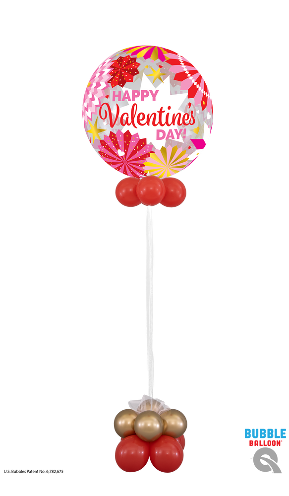Valentines Day Bubble Balloon