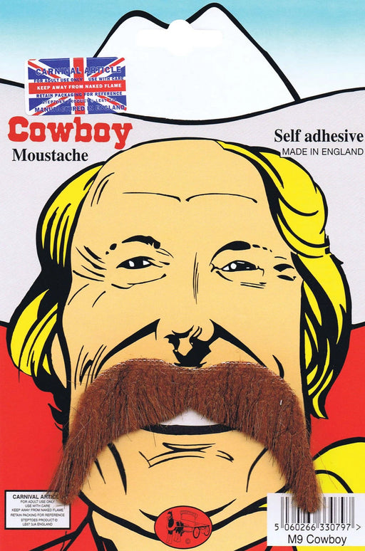 Cowboy Tash (Brown)