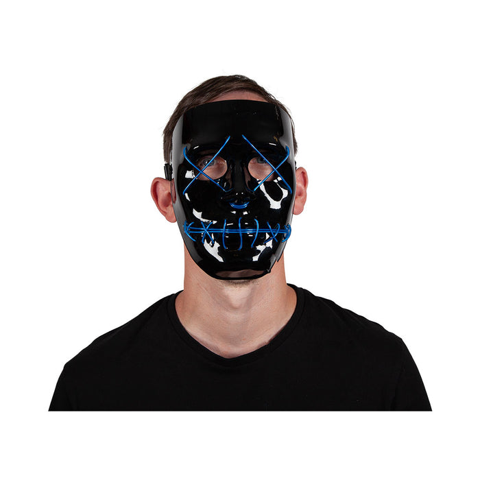 Neon Light Up Mask (blue)