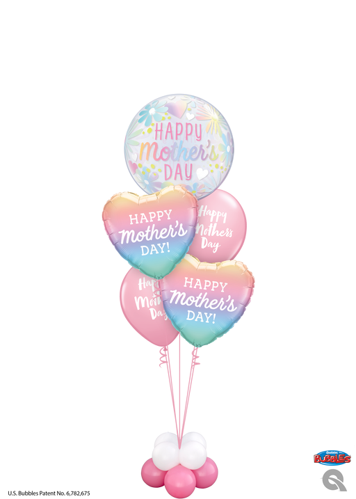 Luxury Mothers Day Bubble Bouquet